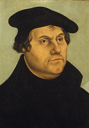 Martin Luther | Workshop of Lucas Cranach the Elder | Oil Painting