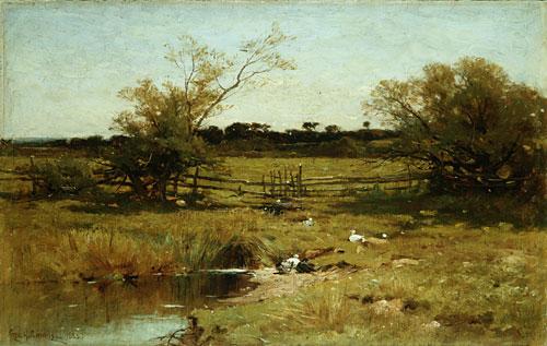 East Hampton Meadows 1883 | George Henry Smillie | Oil Painting