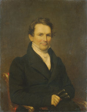 Edward Kellogg 1831 | Samuel Lovett Waldo | Oil Painting