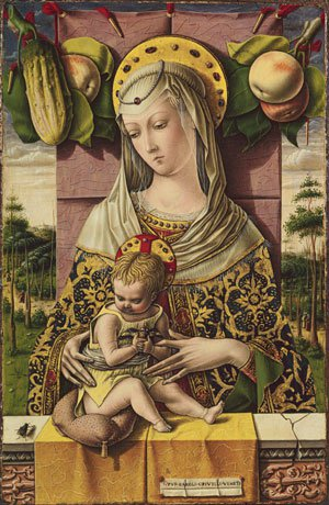 Madonna and Child ca 1480   Carlo Crivelli   Oil Painting