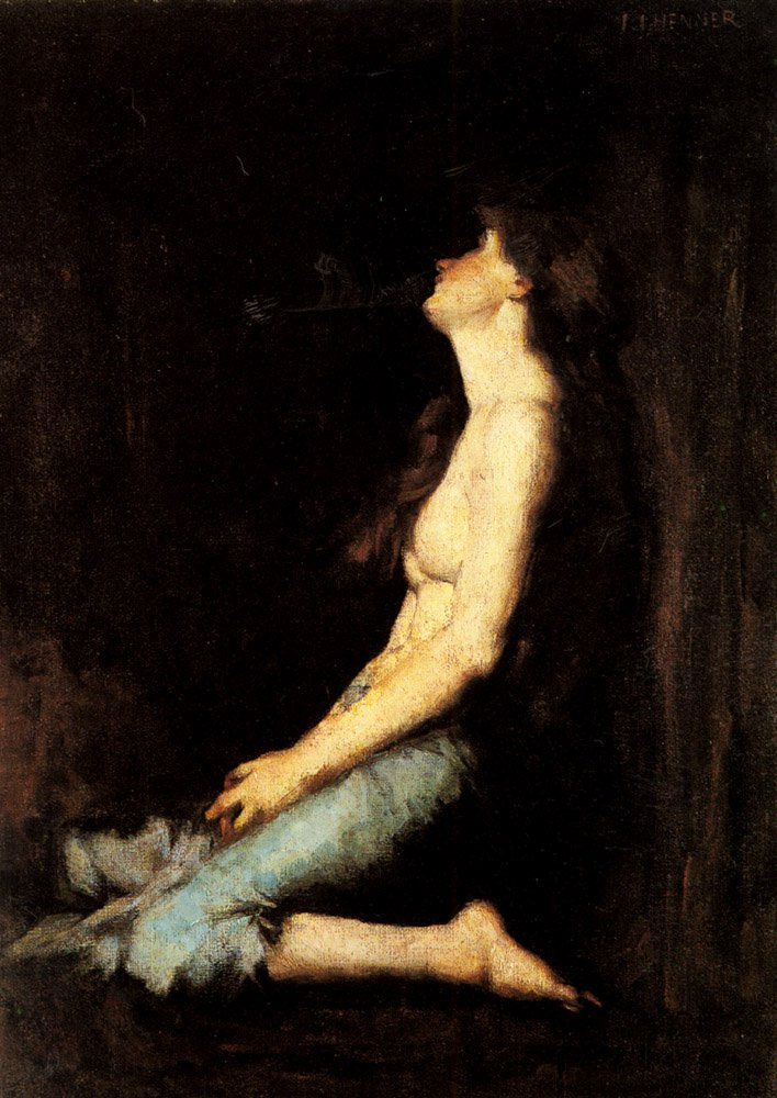 Solitude | Jean Jacques Henner | Oil Painting