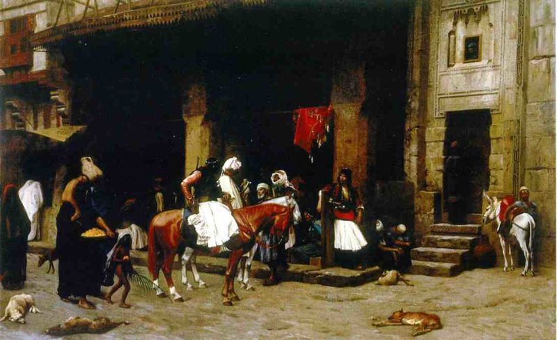 A Street in Cairo 1871 | Jean Leon Gerome | Oil Painting