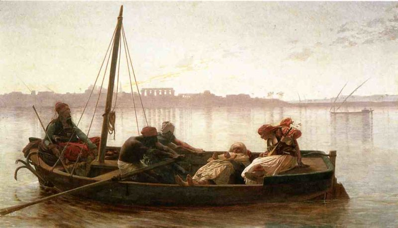 The Prisoner 1861   Jean Leon Gerome   Oil Painting