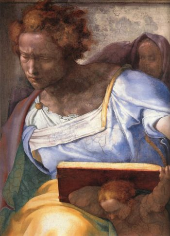 Daniel (Detail) 1 1511 | Michaelangelo | Oil Painting