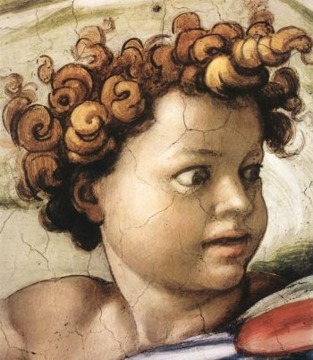 Isaiah (Detail) 2 1509 | Michaelangelo | Oil Painting