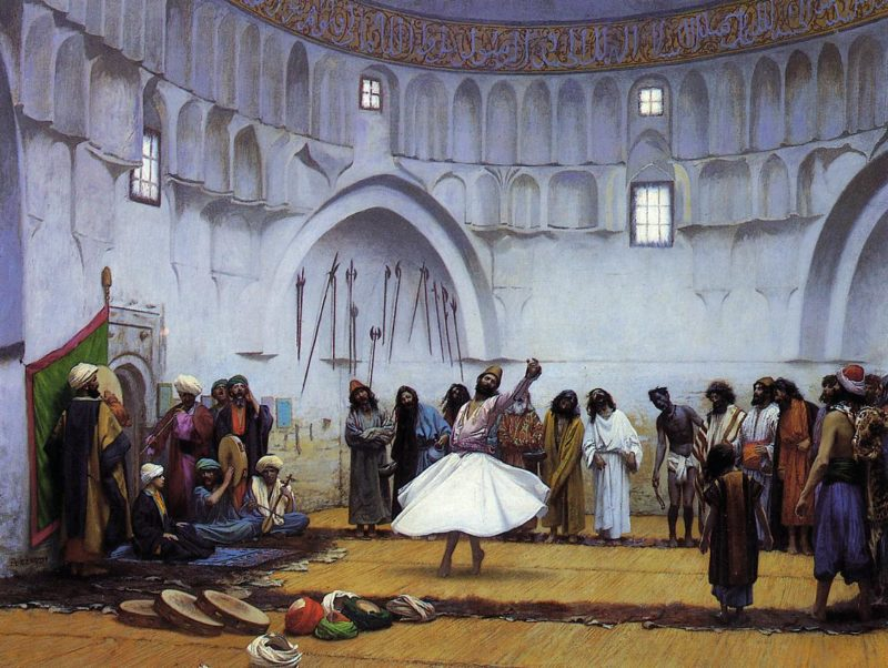 Whirling Dervishes 1895 | Jean Leon Gerome | Oil Painting