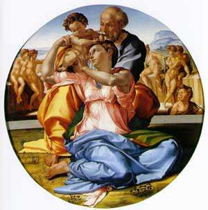Holy Family | Michaelangelo | Oil Painting