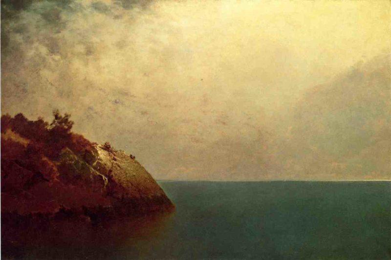 A Foggy Sky 1872 | John Frederick Kensett | Oil Painting