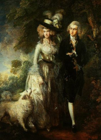 Mrs And Mrs William Hallet (The Morning Walk) 1785 | Thomas Gainsborough | Oil Painting