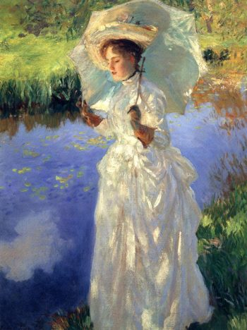 A Morning Walk 1888 | John Singer Sargent | Oil Painting