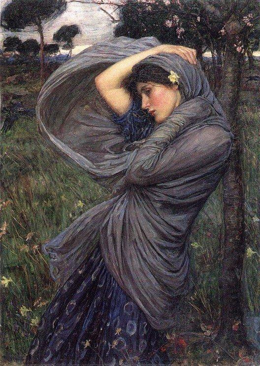 Boreas | John William Waterhouse | Oil Painting