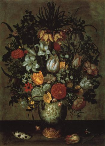Chinese Vase With Flowers | Ambrosius Bosschaert I | Oil Painting