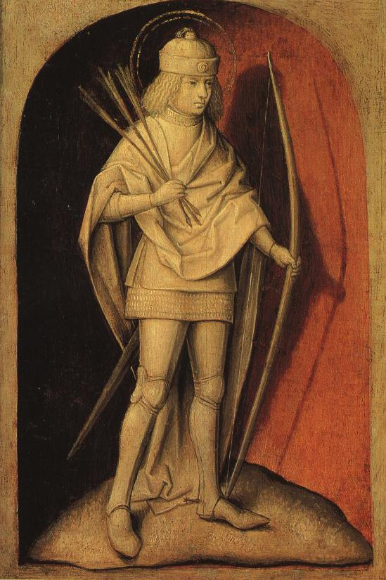 St Sebastian | Attributed To The Master Of The Magdalene Legend | Oil Painting