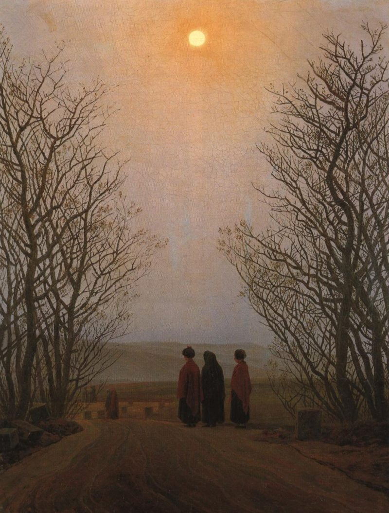Easter Morning | Caspar David Friedrich | Oil Painting