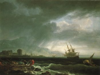 A Stormy Sea | Claude Joseph Vernet | Oil Painting