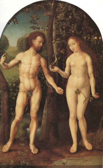 Adam And Eve | Jan Gossaert Called Mabuse | Oil Painting