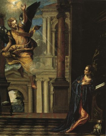 Annunciation | Paolo Veronese | Oil Painting