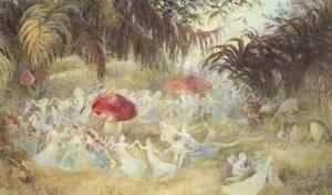 The Fairies Dance | Richard Doyle | Oil Painting