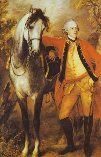 Edward 2nd Viscount Ligonier Exhibited R A 1771 | Thomas Gainsborough | Oil Painting