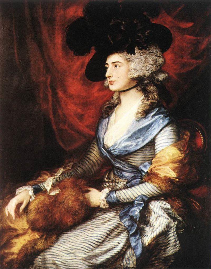 Mrs Sarah Siddons 1785 | Thomas Gainsborough | Oil Painting