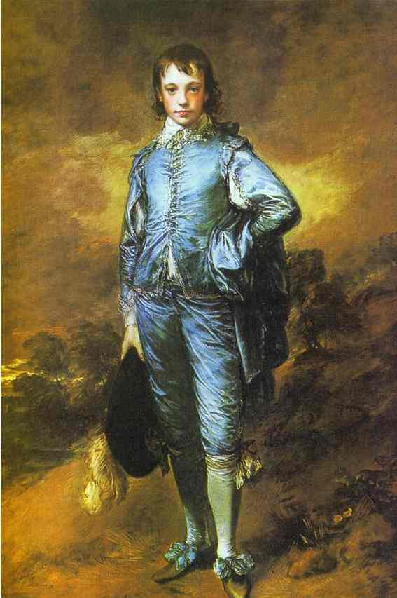 The Blue Boy Exhibited R A 1770 | Thomas Gainsborough | Oil Painting