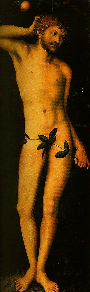 Adam | Lucas Cranach the Elder | Oil Painting
