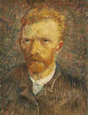 Self Portrait 1888 | Vincent Van Gogh | oil painting