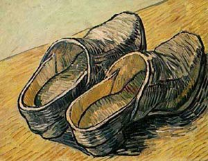 A Pair Of Leather Clogs 1888 | Vincent Van Gogh | oil painting