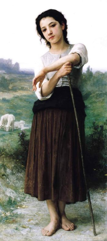 Bergere | William Bouguereau | oil painting