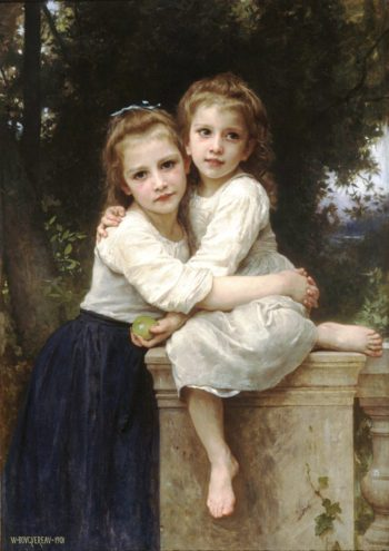 Deux Soeurs | William Bouguereau | oil painting