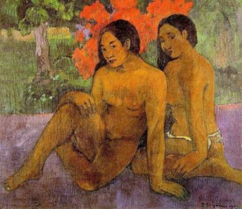 And the Gold of Their Bodies 1901 | Paul Gauguin | oil painting