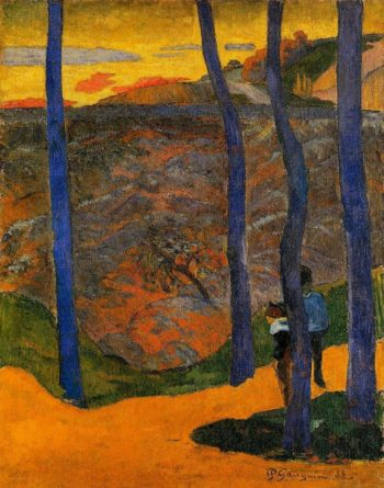 Blue Trees 1888 | Paul Gauguin | oil painting