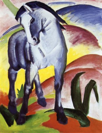 Blue Horse I 1911 | Franz Marc | oil painting