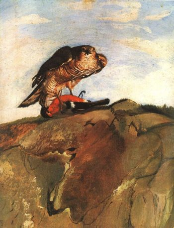 Bird of Prey 1893 | Kosztka Tivdar Csontvary | oil painting