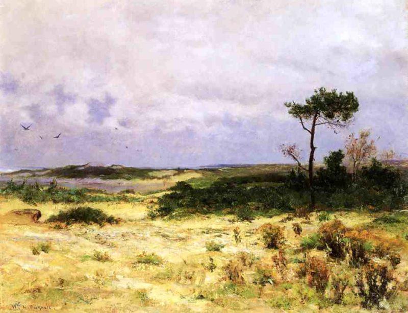 Annisquam Landscape Date unknown   Picknell William Lamb   oil painting