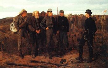 Prisoners From The Front 1866 | Winslow Homer | oil painting