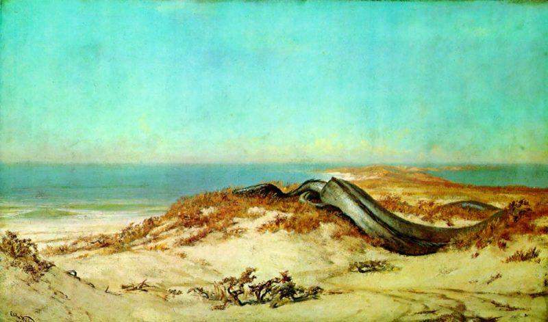 Lair of the Sea Serpent 1879 1880 | Elihu Vedder | oil painting