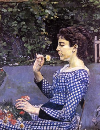 Portrait of Helene Weigle Date unknown | Ferdinand Hodler | oil painting