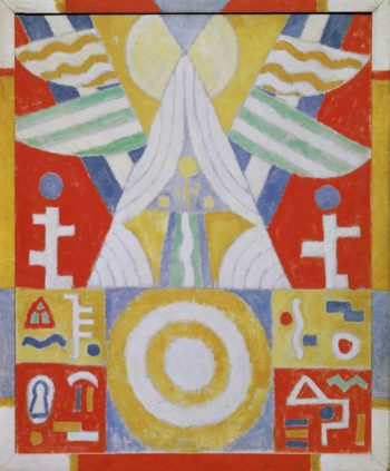 Painting No 2 1914 | Marsden Hartley | oil painting