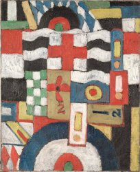 Military | Marsden Hartley | oil painting