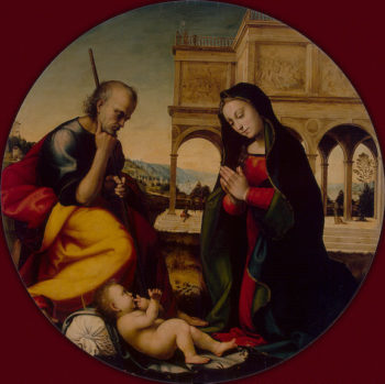 Adoration of the Christ Child Late 15th-early 16th century | Albertinelli Mariotto | oil painting