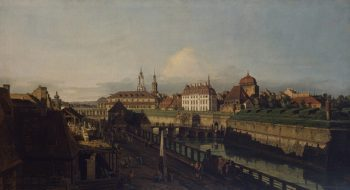 Old Fortifications of Dresden 1749-1752 | Bellotto Bernardo | oil painting