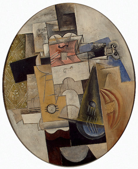 Musical Instruments 1912 | Musical Instruments | oil painting
