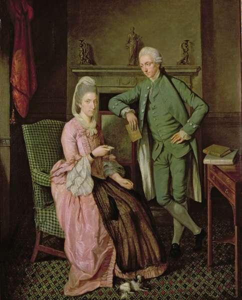 Conversation Piece | Benjamin Wilson | oil painting
