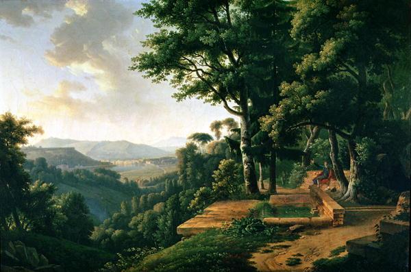 Jean Jacques Rousseau | Alexandre Hyacinthe Dunouy | oil painting