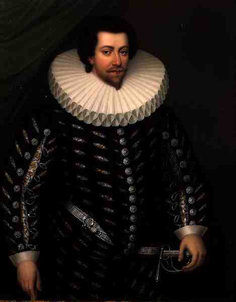 Lord Russell of Thornhaugh   Henry Bone   oil painting