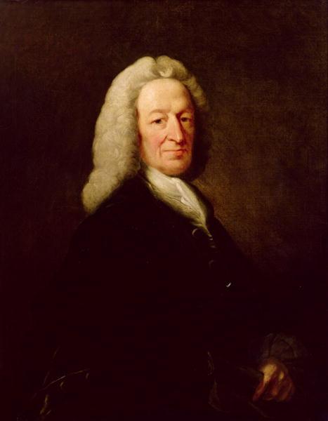 Portrait of Judge Richard Wilson   Benjamin Wilson   oil painting