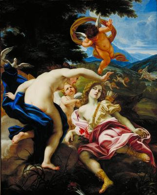 The Death of Adonis 1683 85 | Il Baciccio | oil painting