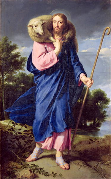 The Good Shepherd 1650 60 | Philippe de Champaigne | oil painting