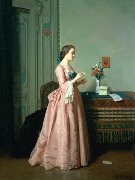 The Love Letter   Jean Carolus   oil painting